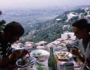 Lunch on Rocca di Papa