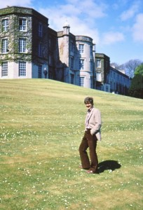 Plas Newydd, home of the Marquess of Anglesey. For some reason I really like this picture of me.