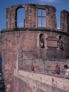 Heidelberg castle with Owen