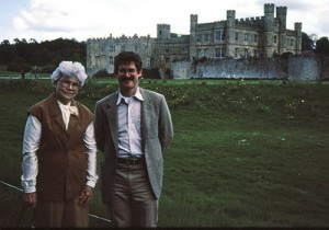 Us in front of Knole