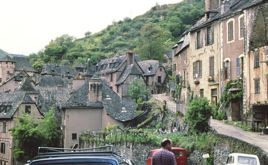 The extraordinary village of Conques