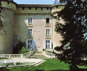 The Chateau de Mercues--a hotel then, and now, and we stayed there 30 years later