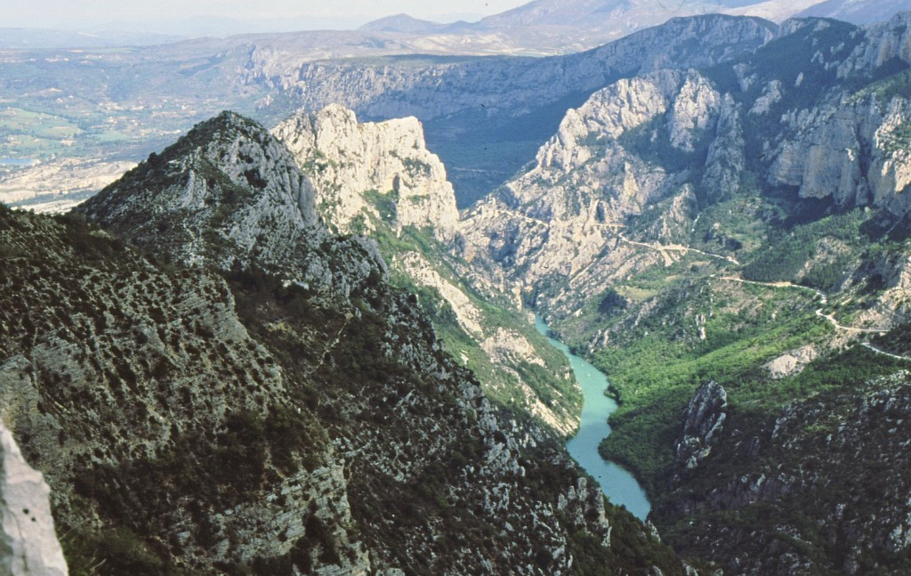 The breathtaking Gorges du Verdon
